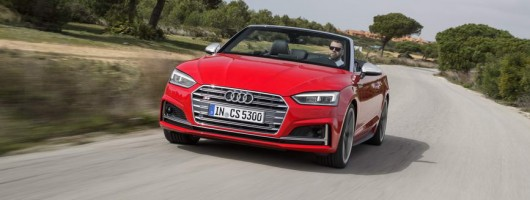 First drive: Audi S5 Cabriolet. Image by Audi.