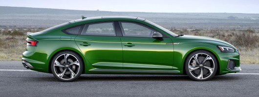 450hp RS5 Sportback puts the boot into performance. Image by Audi.