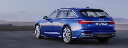 Audi loads up A6 Avant Mk5. Image by Audi.