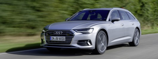 First drive: Audi A6 Avant. Image by Audi.