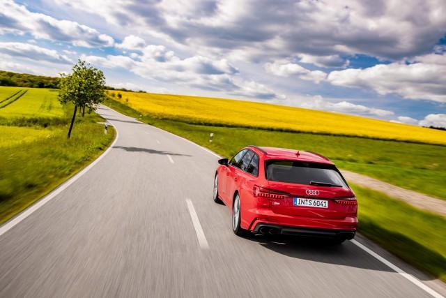First drive: Audi S6 TDI Avant. Image by Audi.