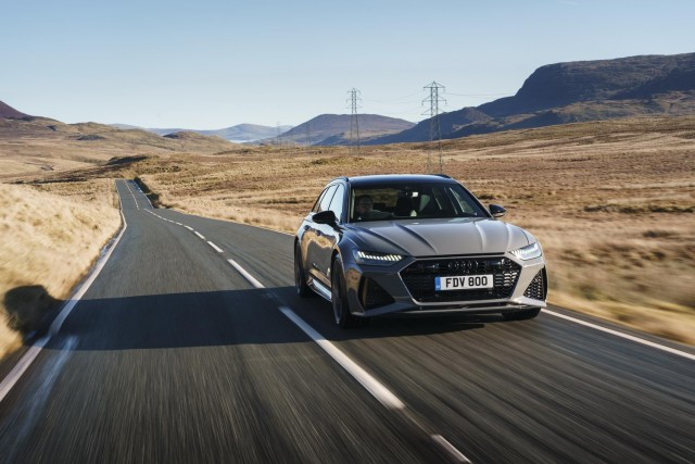 First drive: Audi RS 6 Avant. Image by Audi UK.
