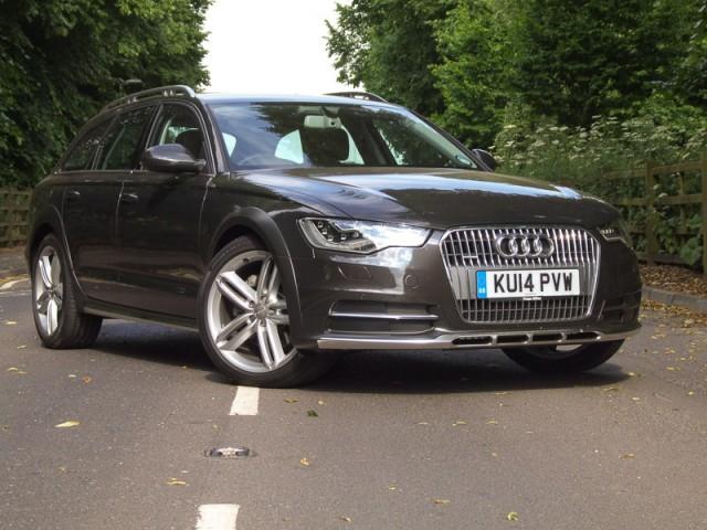 Driven: Audi A6 allroad quattro. Image by Matt Robinson.