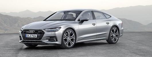 Second-generation Audi A7 Sportback debuts. Image by Audi.