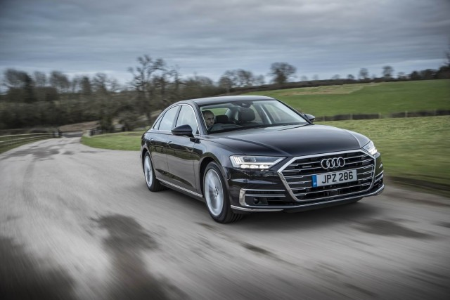 Driven: Audi A8 55 TFSI. Image by Audi UK.