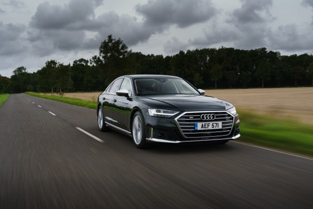 First drive: Audi S8. Image by Audi UK.