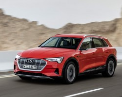 2019 Audi e-tron SUV. Image by Audi.