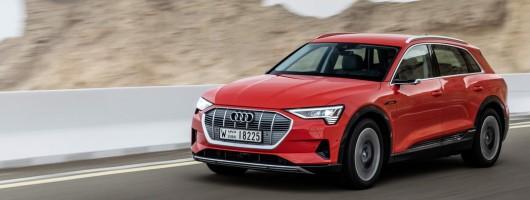 First drive: Audi e-tron quattro. Image by Audi.