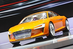 2009 Audi e-tron concept. Image by United Pictures.