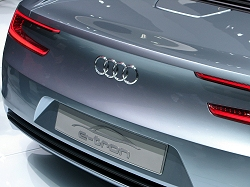 2010 Audi e-tron concept. Image by Mark Nichol.
