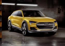 2016 Audi h-tron quattro concept. Image by Audi.