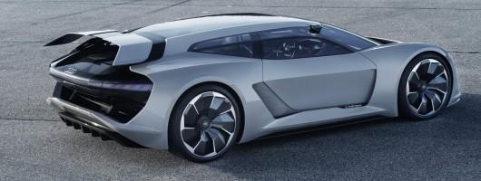 Audi confirms 775hp PB18 e-tron for Monterey. Image by Audi.