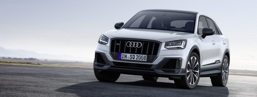 Audi beefs up crossover with 300hp SQ2. Image by Audi.