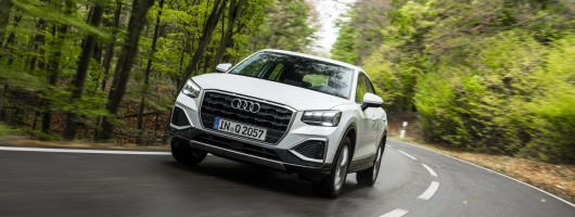 First drive: Audi Q2 2020MY. Image by Audi AG.