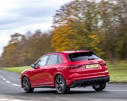 Audi RS Q3 first drive. Image by Audi UK.