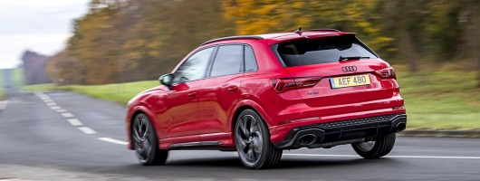 First drive: Audi RS Q3. Image by Audi UK.