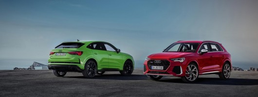 Audi's hot RS Q3 packs 400hp into compact shape. Image by Audi AG.