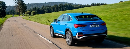 First drive: Audi Q3 Sportback. Image by Audi UK.