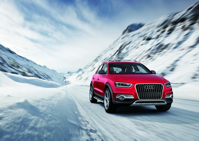 The Car Enthusiast Image Gallery 2012 Audi Q3 Vail Concept