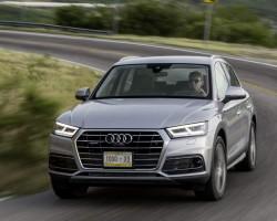 Pre-prod Audi Q5. Image by Audi.