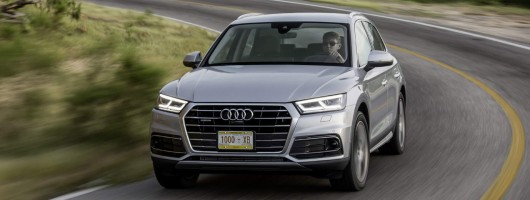 First drive: Audi Q5. Image by Audi.