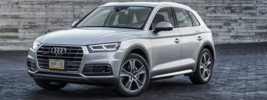 Audi reveals new Q5 in Paris. Image by Audi.