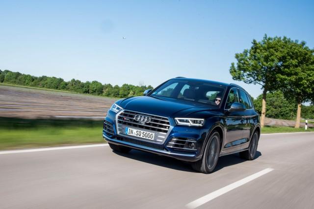 First drive: Audi SQ5 TFSI. Image by Audi.