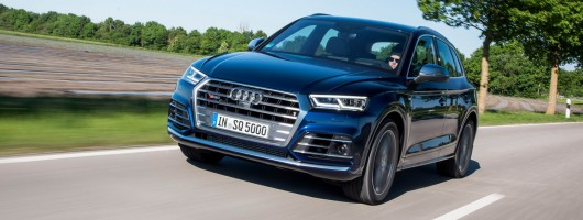 First drive: Audi SQ5 TFSI. Image by Audi.