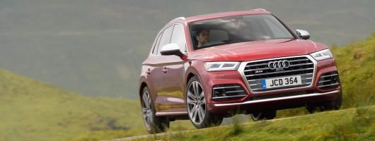 Driven: Audi SQ5 TFSI. Image by Audi.