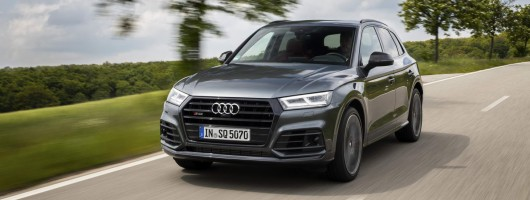 First drive: Audi SQ5 TDI. Image by Audi.