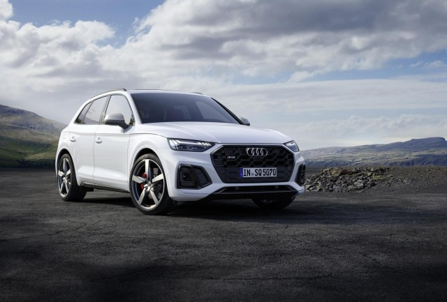 Audi blesses revised SQ5 with MHEV tech. Image by Audi AG.