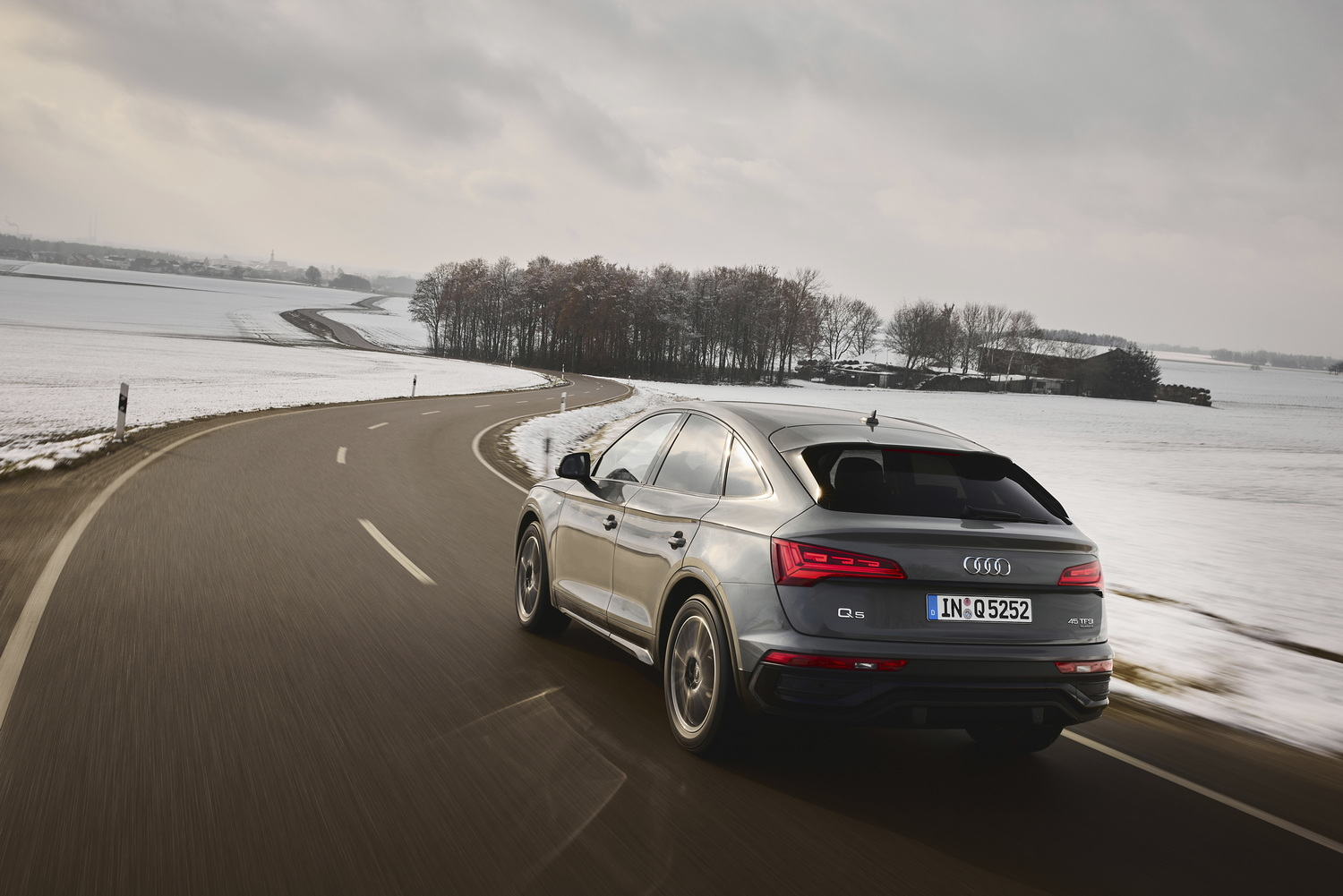 First drive: Audi Q5 Sportback. Image by Audi.