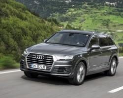 Audi's new Q7 SUV. Image by Audi.