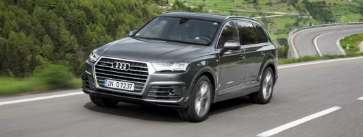 First drive: Audi Q7 3.0 TDI. Image by Audi.
