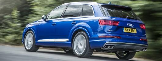 Driven: Audi SQ7. Image by Audi.