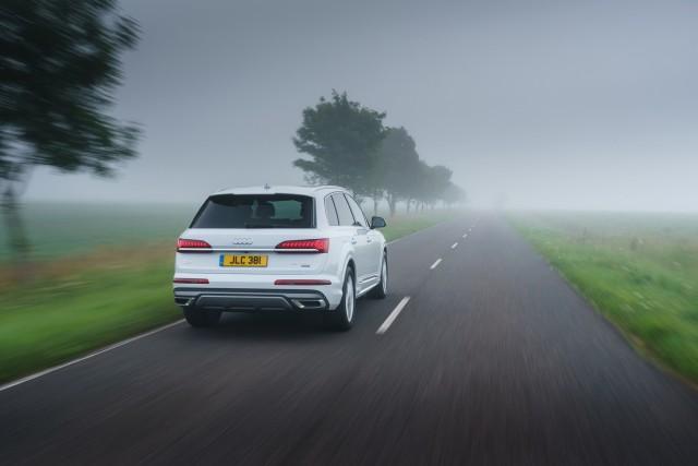First drive: Audi Q7 55 TFSI e. Image by Audi UK.