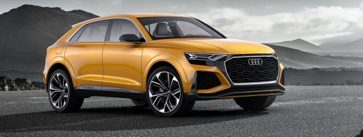 Storming RS Q8 concept is Audi's hot hybrid. Image by Audi.