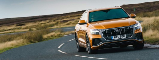 First UK drive: Audi Q8. Image by Audi.
