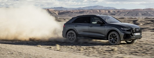 First drive: Audi Q8. Image by Audi.