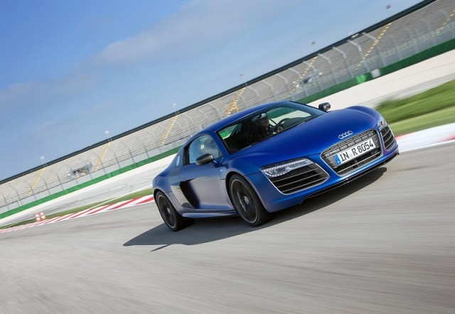 First drive: Audi R8 V10 plus. Image by Audi.