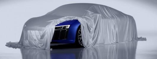 2015 Audi R8. Image by Audi.