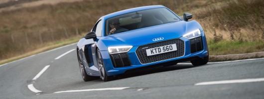 Driven: Audi R8 V10 plus coupe. Image by Audi.