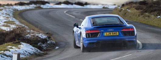 Driven: Audi R8 RWS. Image by Audi.