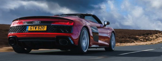 First drive: Audi R8 Spyder performance. Image by Audi.