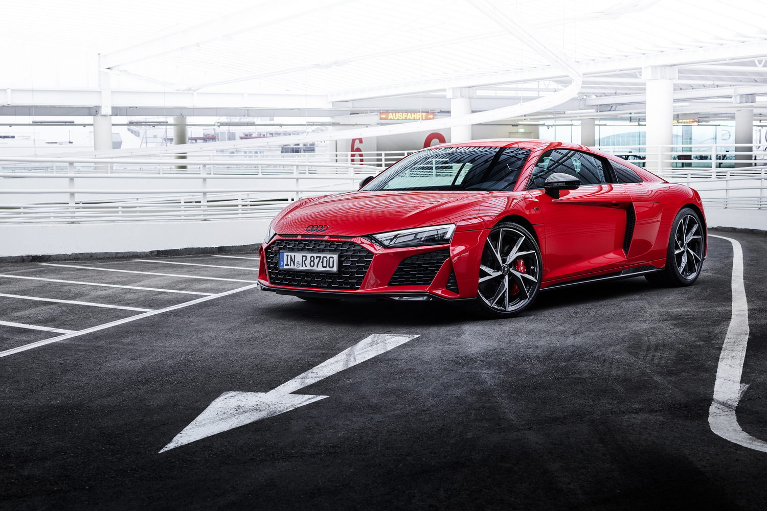 More power for Audi R8 V10 performance RWD. Image by Audi.