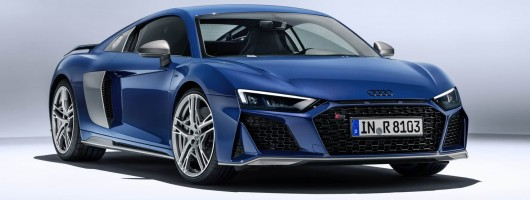 Audi updates the R8 for 2019. Image by Audi.