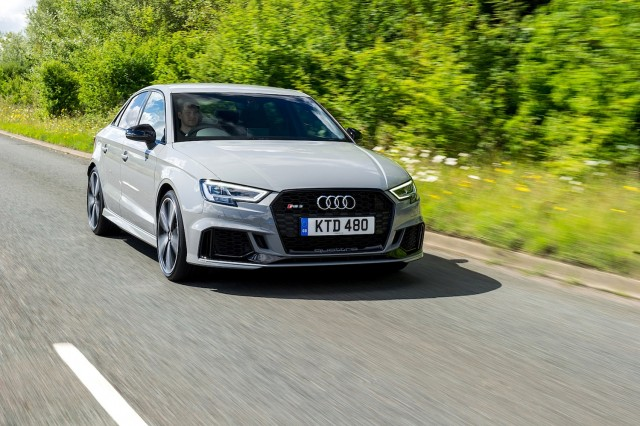 Audi RS 3 Saloon. Image by Audi.