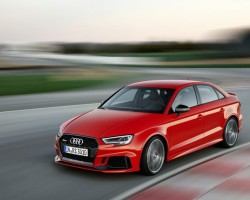 2017 Audi RS 3 Saloon. Image by Audi.