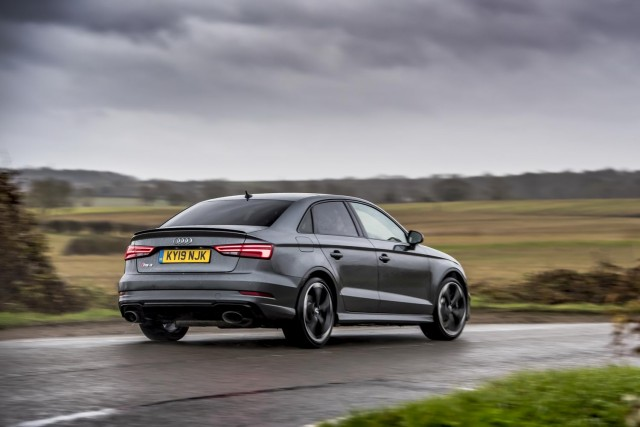 First drive: Audi RS 3 Saloon Sport Edition. Image by Audi UK.
