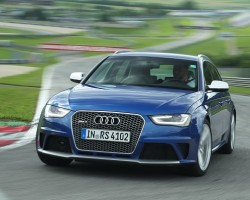 RS 4 returns - as an estate. Image by Audi.